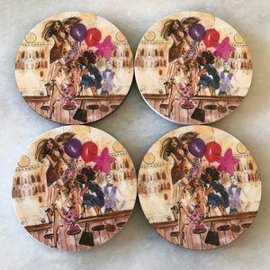 Henri Bendel Coasters